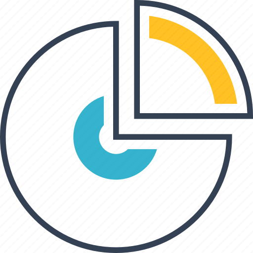 chart, institution, results icon