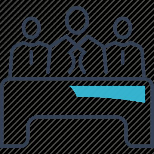 Exam, institution, jury icon - Download on Iconfinder