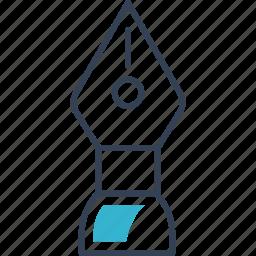 institution, pen, tool icon