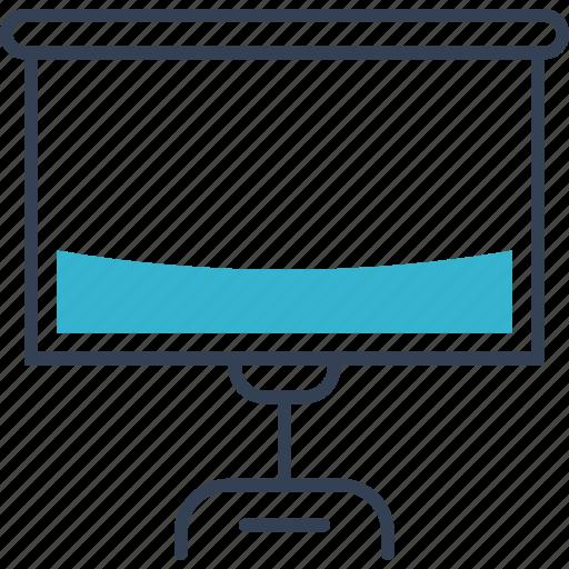 institution, lecture, lesson, screen icon