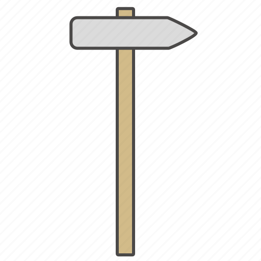 carpenter hammer, equipment, hammer, hamper, repair, repair tool icon