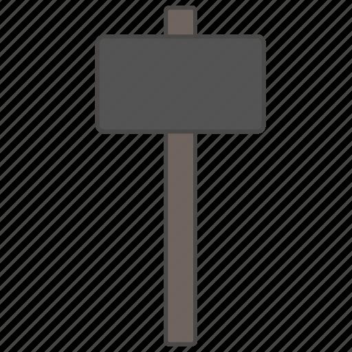 building, hammer, hamper, maul, repair tool, sledgehammer, thor icon