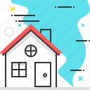 disaster, house, insurance, natural, storm, tornado icon