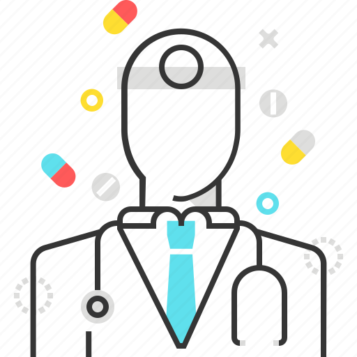 doctor, health, insurance, patient, pills icon