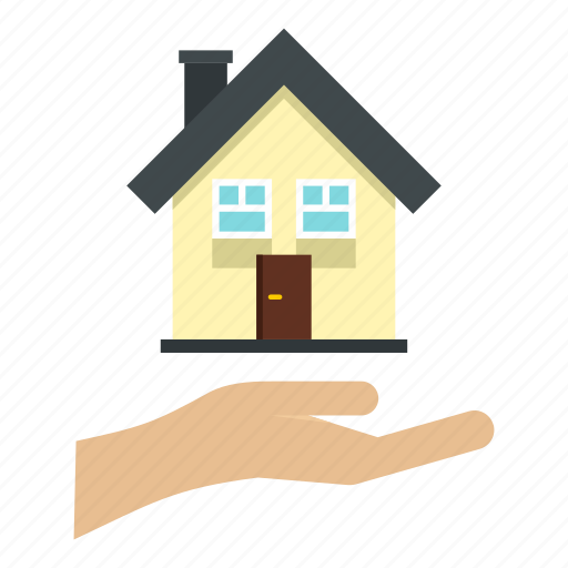 building, business, estate, home, house, real, residential icon