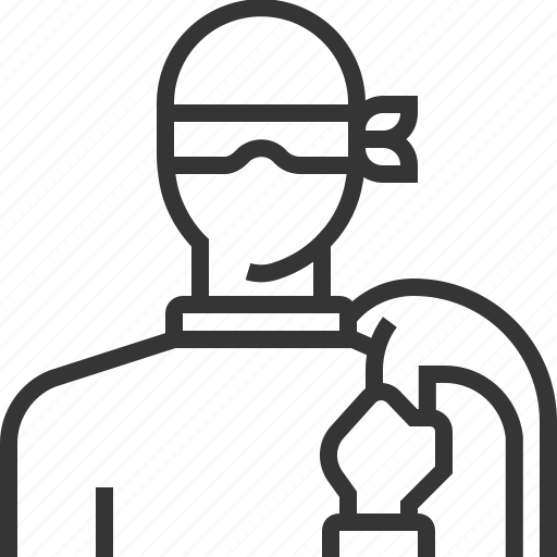 assurance, identity, insurance, personal, property, theft, thief icon