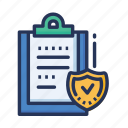 documents, note, secure note icon
