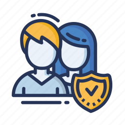 employee, group, people, safe people icon