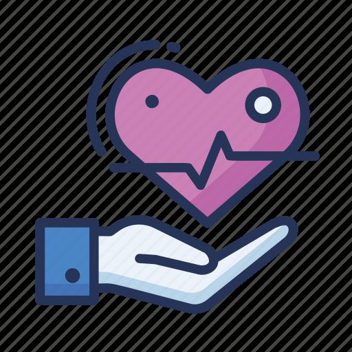 health, healthcare, heart, save heart icon