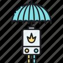 boiler, boiler insurance, insurance icon