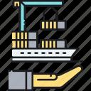 inland, insurance, marine, cargo ship, inland marine insurance, ship, shipping container