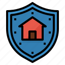 house, home, coverage, insurance, protection icon