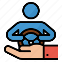 insurance, driving, motorist, coverage, vehicle icon