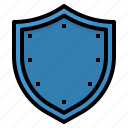 coverage, insurance, protect, shield icon