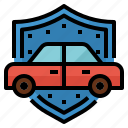 liability, insurance, coverage, protection, vehicle icon