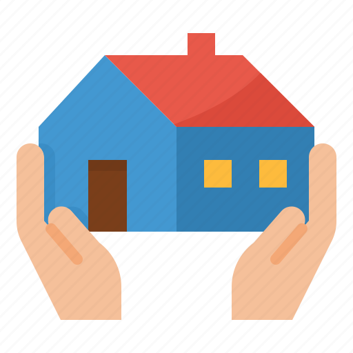 Bank, home, insurance, loan, mortgage icon - Download on Iconfinder