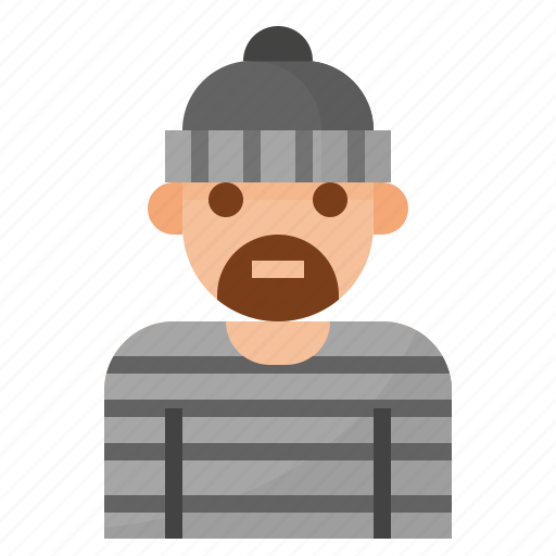 coverage, insurance, loss, residence, robbery icon