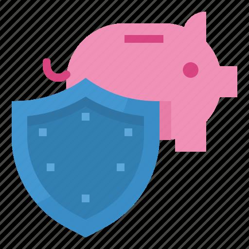 income, insurance, plan, profit, saving icon