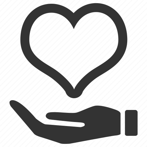 Heart, health, insurance, care, healthy, love icon
