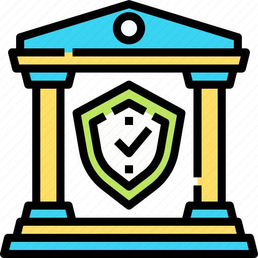 Bank, banking, finance, insurance, security icon - Download on Iconfinder