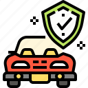 car, insurance, security, transport, vehicle icon