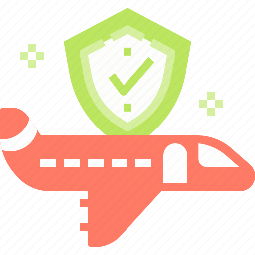 Airplan, airport, flight, insurance, security icon - Download on Iconfinder