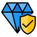 protect, asset, jewelry, insurance, protection icon
