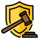 coverage, insurance, legal, protect, protection icon