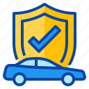 car, insurance, protect, protection, risk icon
