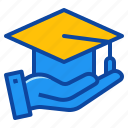 coverage, education, insurance, protect, protection icon