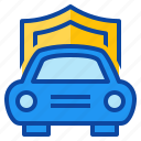 car, insurance, motor, protect, protection, risk icon