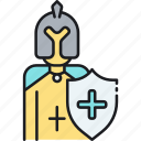 fighter, insurance, medical, medical insurance, warrior icon