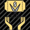 discount, ticket, voucher icon