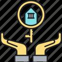 guarantee, home insurance, house insurance, insurance, rent, rent guarantee insurance icon