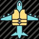flight insurance, insurance, travel, travel insurance icon