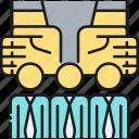 employer, uninsured, uninsured employer icon