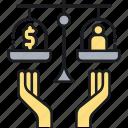 insurance, wage, wage insurance icon