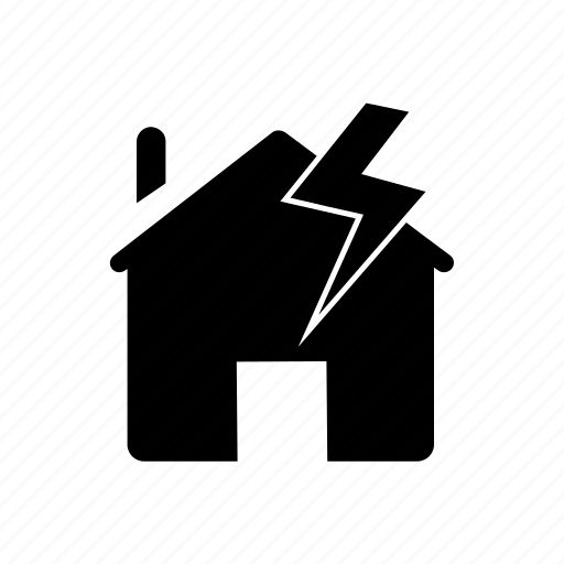 Cloud, home protection, lightning protection, property insurance, rain, thunderstorm, weather icon - Download on Iconfinder