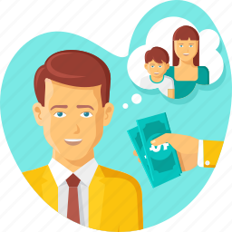family insurance, hand, life insurance, man, money, protection