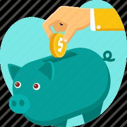 finance, insurance, money, pig, protection, savings