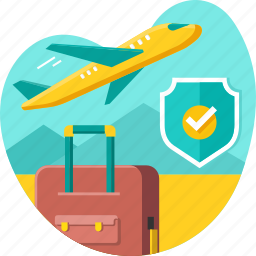 air, business, flight, insurance, plane, protection, travel