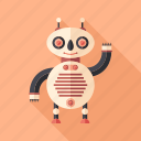 android, character, cyborg, intelligent, monster, robot, toy icon