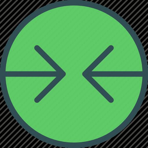 arrowsleft, circle, forward, point icon