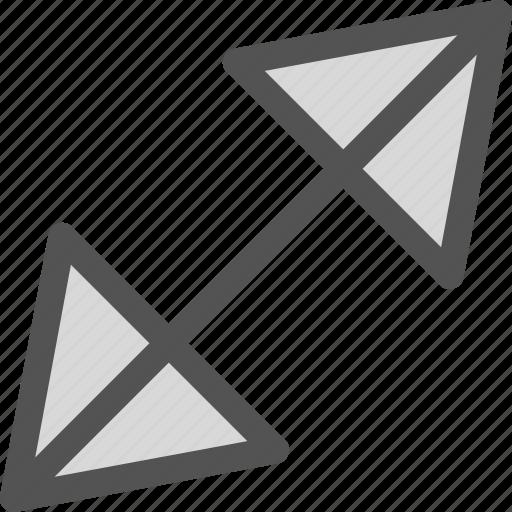 arrow, diago, nal, return icon