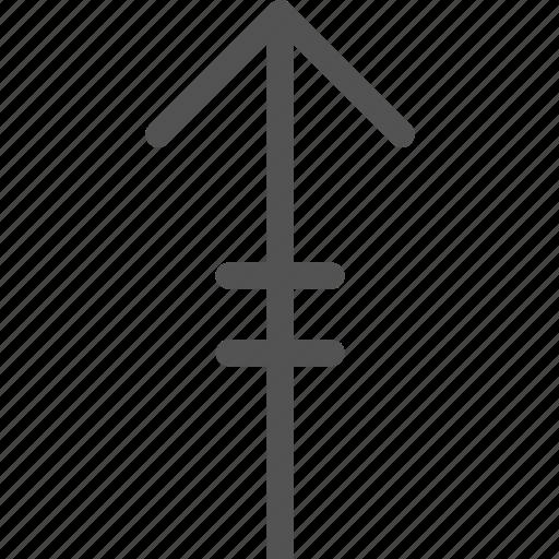 arrow, lineup, upload icon