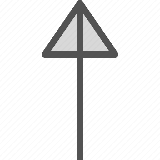 arrow, arrows, circle, direction, point, up icon