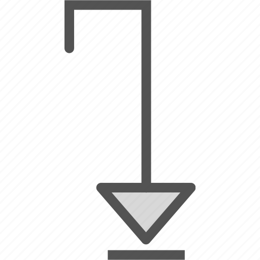 Arrow, direction, down icon - Download on Iconfinder