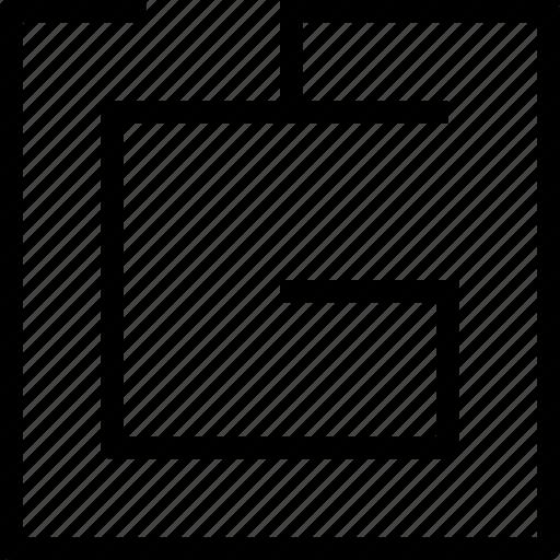 alphabet, letter icon