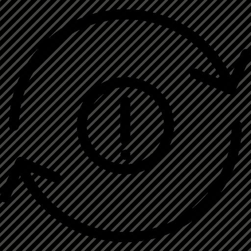 attention, refresh, renew icon
