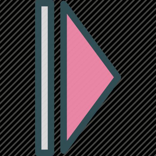 arrow, arrow2, forward, play, right icon